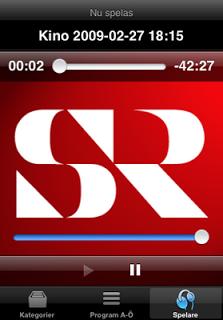 """524820 279 400 - Il podcast di Sverige Radio con una """"iPhone app"""""""