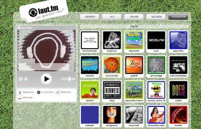 laufm - Webcasting: Laut.fm, user generated radio