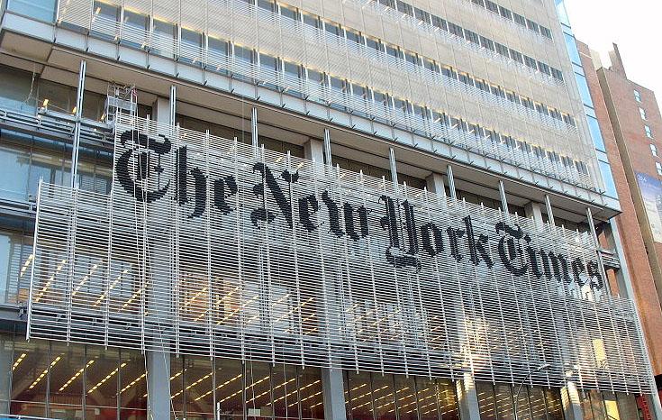 New20York20Times - Editoria. Il New York Times è in ginocchio