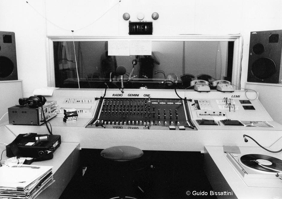 radio gemini one studio 2 - Storia della radiotelevisione italiana. Torino, anni '70: Radio Gemini One