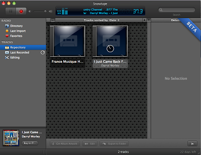 Picture3 - Snowtape, radioregistratore per Internet (e Mac)