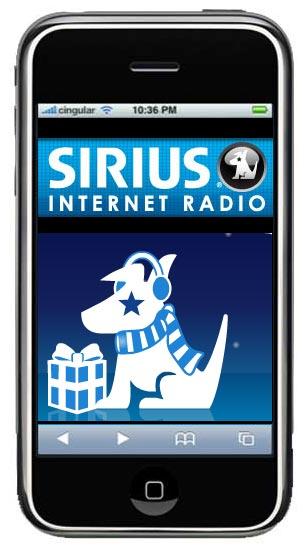 sirius iphone - Radio digitale: in barba alla tecnologia terrestre, è imminente la satradio di Sirius su iPhone
