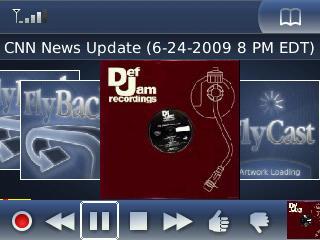 blackberry 1817 n1 - Radio digitale: FlyCast, altro lettore in streaming audio per ascoltare la radio sul BlackBerry