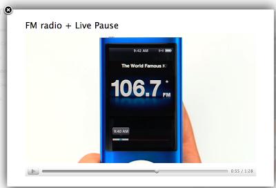 Immagine2 - Una radio FM (e una videocamera) per Re iPod