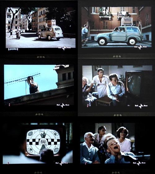 RAI20spot20digitale20terrestre - Digitale terrestre, spot promozionale RAI: la concessionaria pubblica sbaglia clamorosamente la collocazione storica di monoscopi e antenne