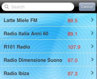 Iphone20Radio20Italia - Radio digitale: Apple lancia l'applicazione per ricevere su iPhone 600 radio italiane (via etere e web)