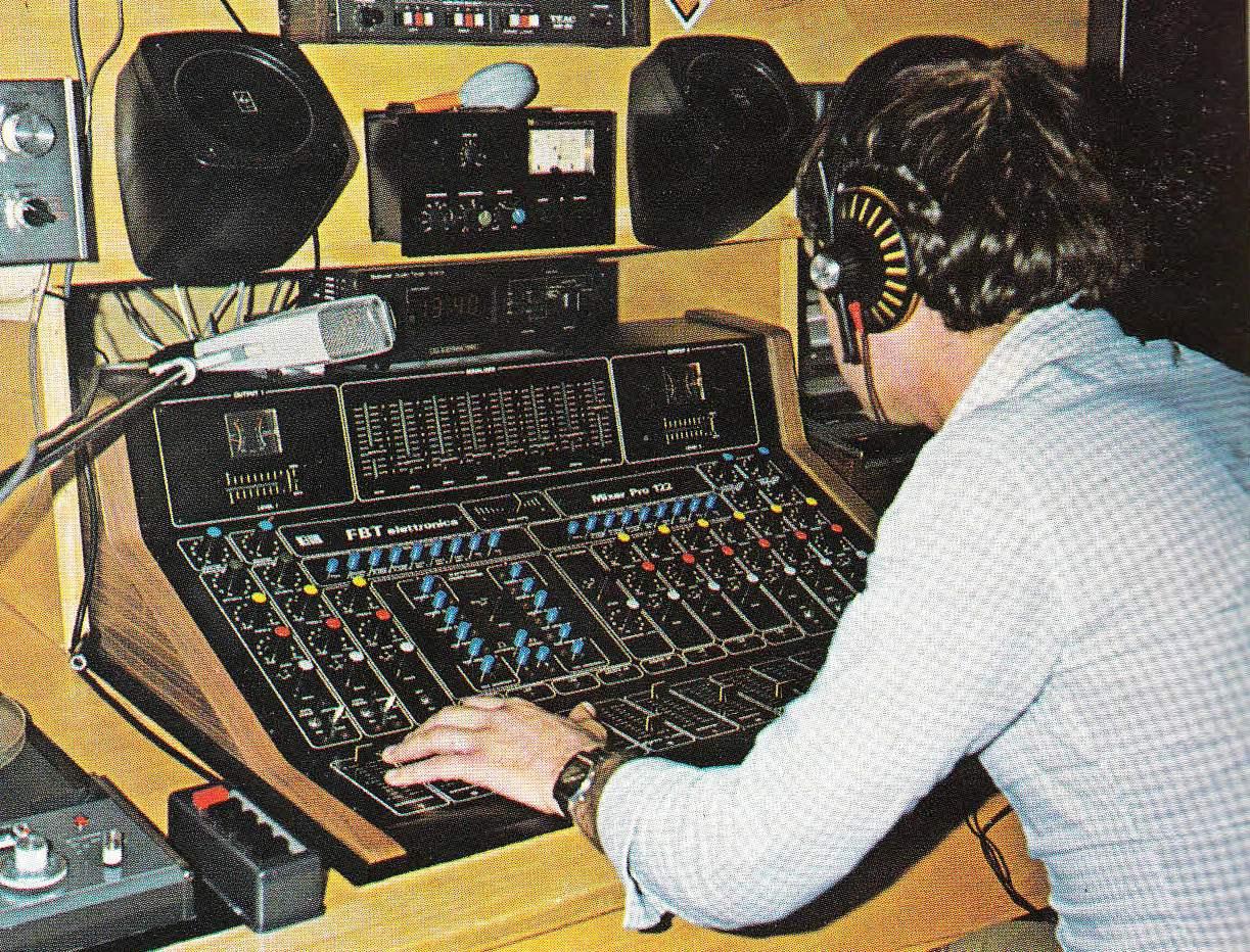 Europa Radio 1979 - Storia della radiotelevisione italiana. Milano, Europa Radio: la prima emittente tematica italiana