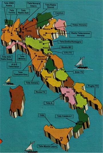 canale20520rete20emittenti20locali201980 - Storia della radiotelevisione italiana. 1977: prove tecniche per un Piano Nazionale di Assegnazione delle Frequenze. Che attendiamo ancora oggi...