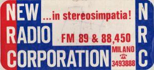 new radio corporation 300x136 - Storia della radiotelevisione italiana. Milano, Europa Radio: la prima emittente tematica italiana