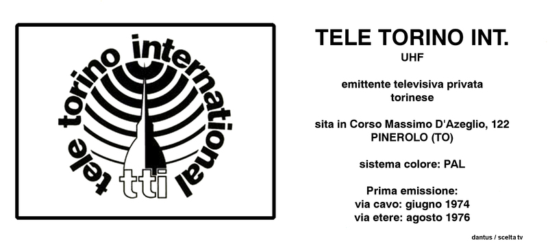 Tele Torino International - Storia della radiotelevisione italiana. Canale 5: esordi del più importante network privato italiano