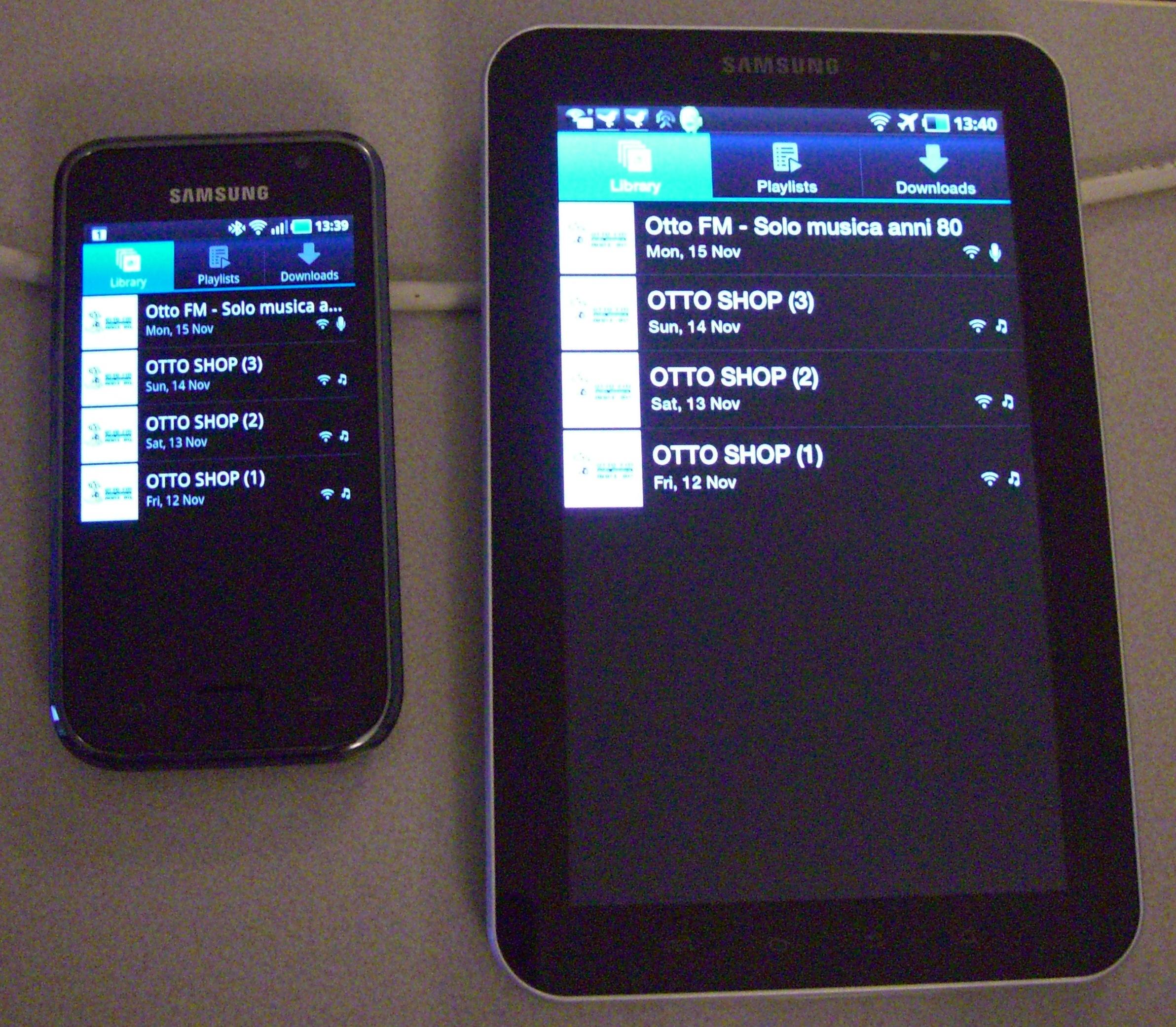 Drivecast20immagine20su20Tablet20pc - Radio digitale. Iniziate le prime veicolazioni di programmi in streaming con tecnologia Drivecast