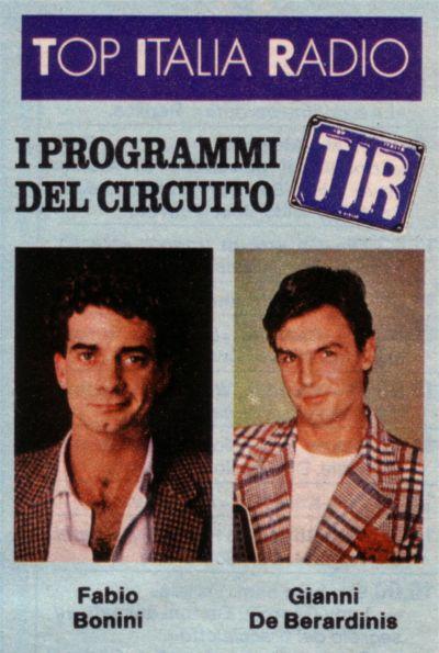 TIR20locandina 1 - Storia della radiotelevisione italiana. Da New Radio Corporation a Top Italia Radio passando per Radio Luna Milano