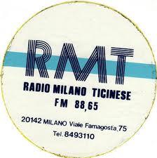 RADIO MILANO TICINESE 1 - Storia della radiotelevisione italiana. Radio Milano Ticinese, la radio di Gino Bramieri