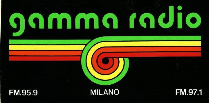 GAMMA RADIO MI - Storia della radiotelevisione italiana. Radio Mediolanum, musica per andare lontano
