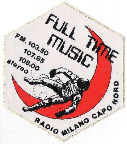 RADIO MILANO CAPO NORD - Storia della radiotelevisione italiana. Radio Atlanta Milano: in FM e oltre