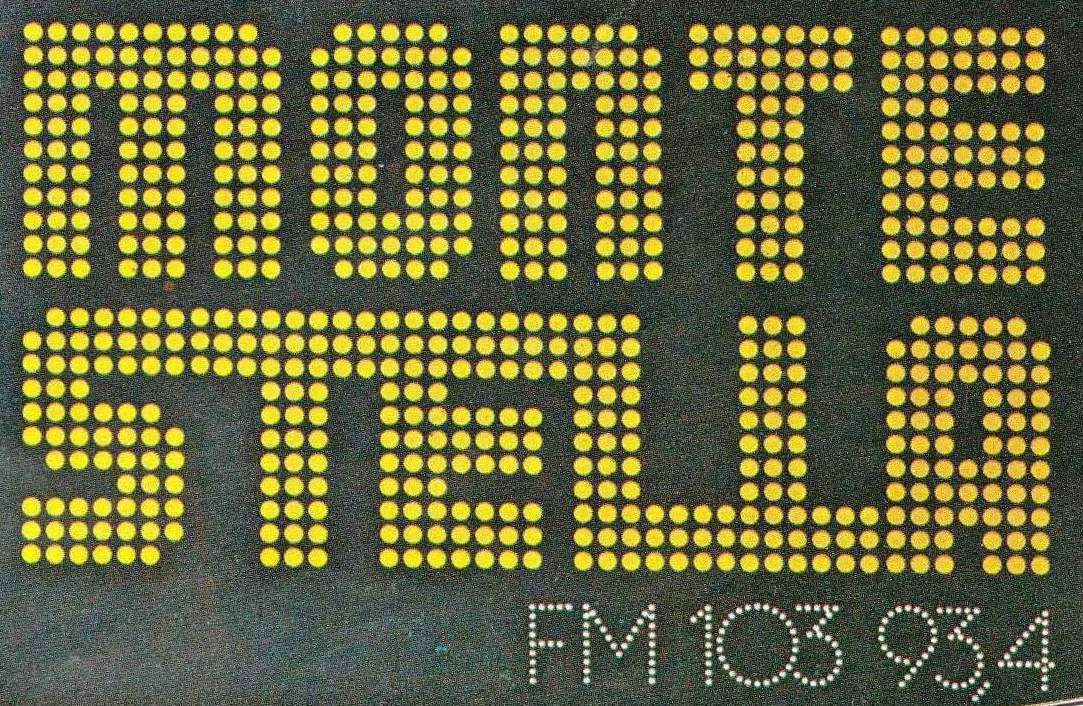 Radio20Montestella20adesivo202 1 - Storia della radiotelevisione italiana. Radio Montestella: l'eterna numero due
