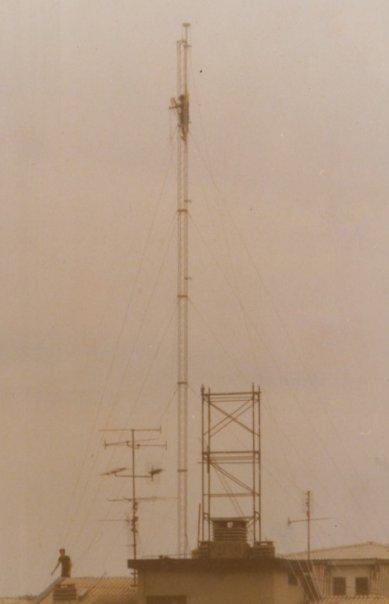 radio capo nord antenna costruzione - Storia della radiotelevisione italiana. Radio Atlanta Milano: in FM e oltre