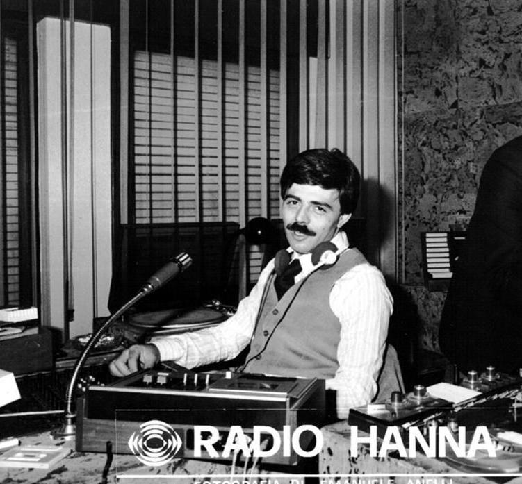 Maurizio Amici Radio Hanna - Storia della radiotelevisione italiana. Roma, Radio In: genesi di una delle prime syndication italiane