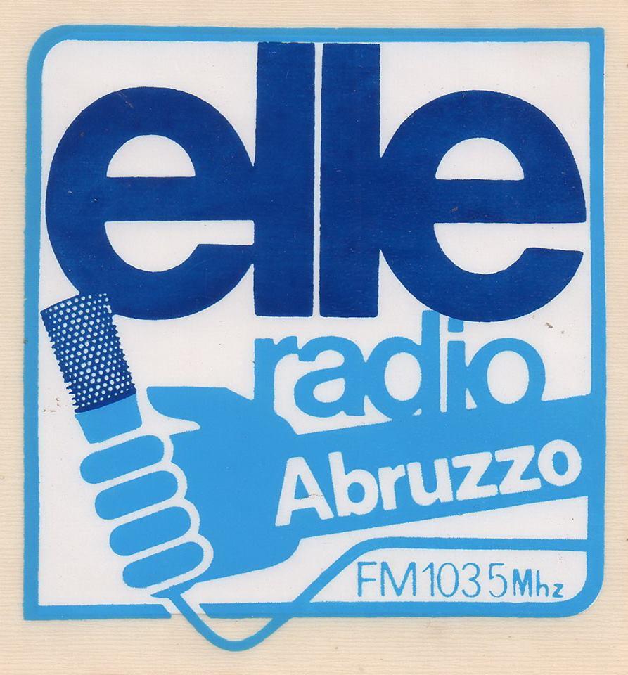 Radio Elle Chieti adesivo 1 - Storia della radiotelevisione italiana. Radio Elle: quando a Roma, nel 1975, si pensava in grande