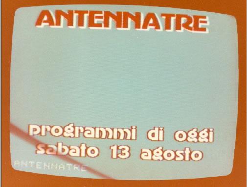 antenna 3 lombardia 1983 - Storia della radiotelevisione italiana. 1977: ad un anno dalla sentenza 202/1976 Cost. si pensava già ad uno sviluppo televisivo privato nazionale