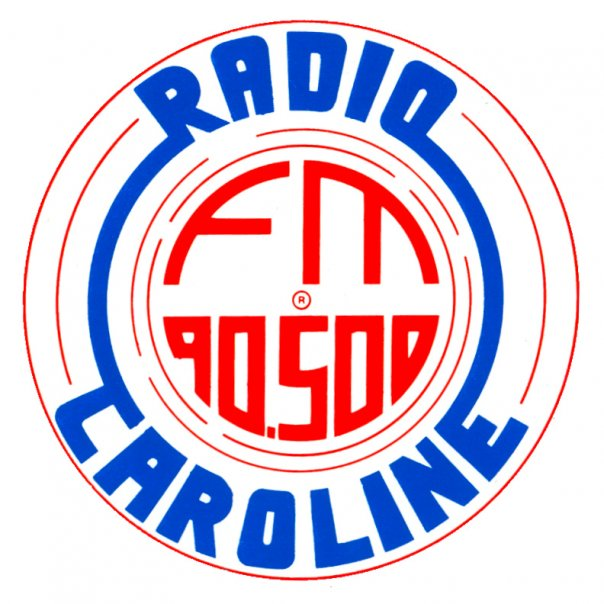 Radio Caroline adesivo 2 1 - Storia della Radiotelevisione italiana. Bollate (Milano): Radio Caroline, un'esistenza all'ombra di Music 100