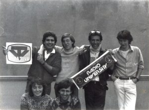 Radio University 2 300x222 - Storia della Radiotelevisione italiana. 1975: Radio University, la voce della destra milanese