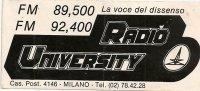 Radio20University203 - Storia della Radiotelevisione italiana. 1975: Radio University, la voce della destra milanese