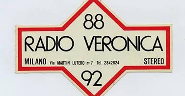 Radio Veronica Milano 2 - Storia della radiotelevisione italiana. Da Radio Villa Briantea a Radio Città di Milano passando per Radio Veronica
