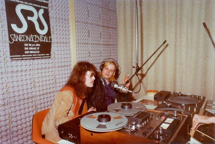 SRS Sandona Centrale studio 2 - Storia della radiotelevisione italiana. Veneto: SRS Radio Sandonà Centrale
