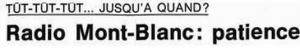 Radio Mont Blanc adesivo 1 300x52 1 - Storia della radiotelevisione italiana. Radio Mont Blanc: dalla Val d'Aosta alla conquista della Francia