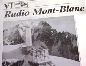 Radio Mont Blanc articolo giornale 300x231 1 - Storia della radiotelevisione italiana. Radio Mont Blanc: dalla Val d'Aosta alla conquista della Francia