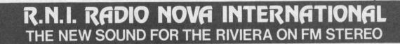 Radio Nova International 8 - Storia della radiotelevisione italiana. Radio K: da Sanremo per far crollare il monopolio radiofonico francese