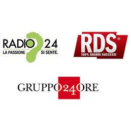 rds radio24 - Radio, RDS e Radio 24 si alleano con programmi in comune. Primo passo per unificazione commerciale o societaria?