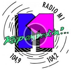 radio M1 logo originario - Storia della radiotelevisione italiana. Südtirol, Radio M1: Keep on rockin' in salsa tedesca