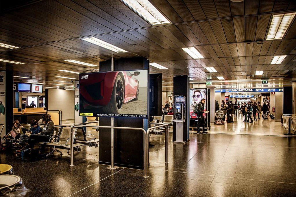 Go Tv Alitalia Telesia 1024x681 - Tv e pubblicità. Mercato Go TV, accordo con Alitalia per la trasmissione di Telesia Airport