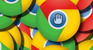 google ad blocking 1 300x161 - Diritto d'autore & web. Corte Giustizia UE stabilisce responsabilità solidale per piattaforme ospitanti contenuti in violazione copyright. FB e Google nel mirino