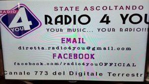Radio 4 You DTT audiografica 300x169 - Multipiattaforma. Martusciello (Agcom): contenuto viaggia indipendentemente dal mezzo per cui è stato prodotto