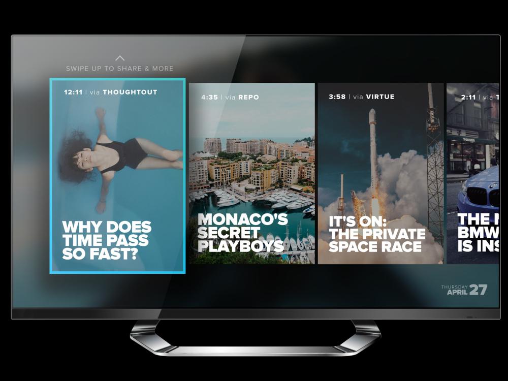 hyper apple tv - Tv. La vecchia televisione va in pensione: nel 2017 nasce il medium ipertestuale