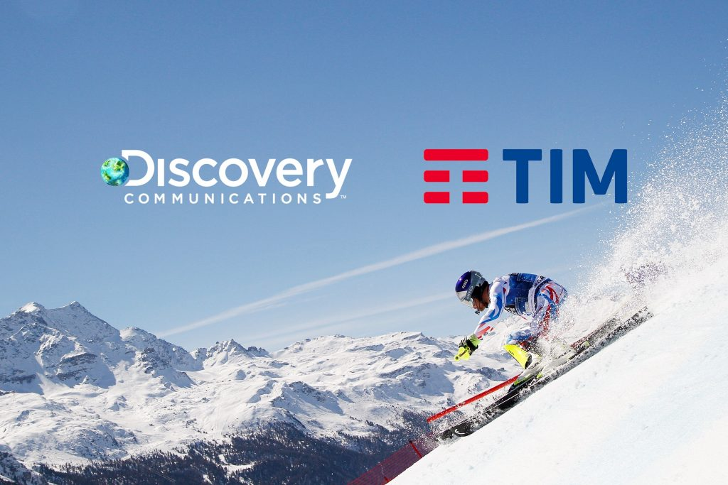 Discovery TIM 1024x683 - Tlc. Partnership Discovery-TIM per primo official mobile broadcaster Olimpiadi