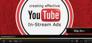 Youtube minispot 6 secondi skip 300x140 - Pubblicità, Italia. Tv al 50% (in discesa), web al 30% (in crescita). Video adv strumento di maggior appeal