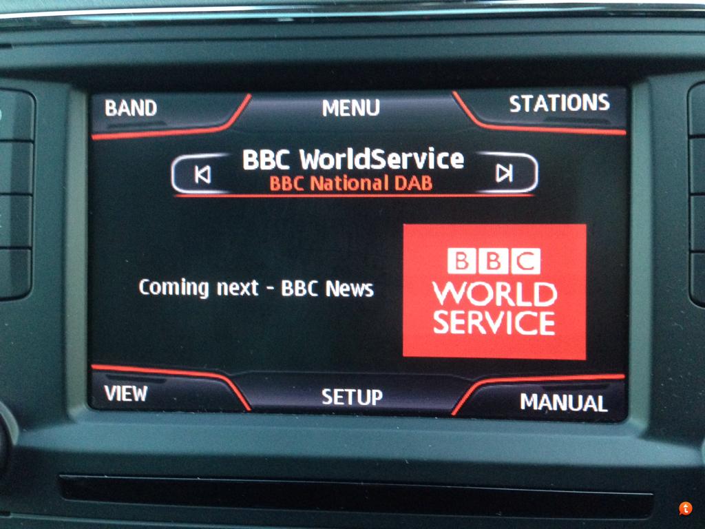 autoradio Seat con slide show del dab - Radio. L'innovazione nei sistemi multimediali delle vetture