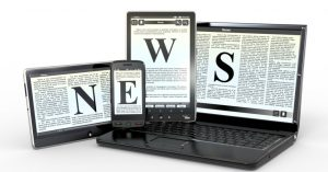 news online 300x157 - Media. Indagine Reuters Institute: news sempre più su social e online. Anche in Italia