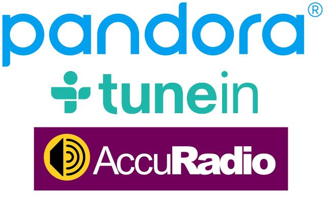 pandora tunein accuradio - Radio digitale, USA: TuneIn vs Pandora. Guerra per la vendita di 888.000.000 impression. Cresce a dismisura ascolto online
