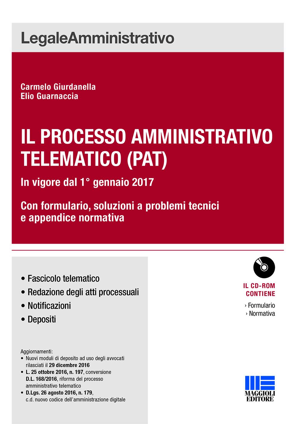 processo amministrativo telematico - Libri. Il processo amministrativo telematico (Pat)