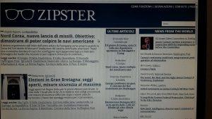 zipster 2 300x169 - Web. Nasce Zipster: notizie, qualità, tempo in un'unica piattaforma online
