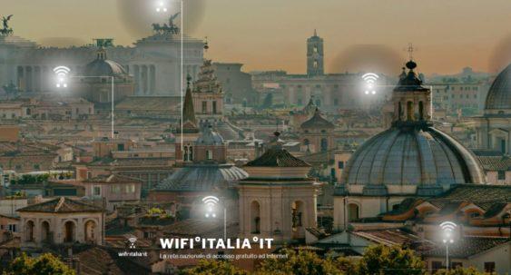 Wi FI Italia - Web. Connessioni Wi-Fi gratuite: via a WIFi°Italia°it