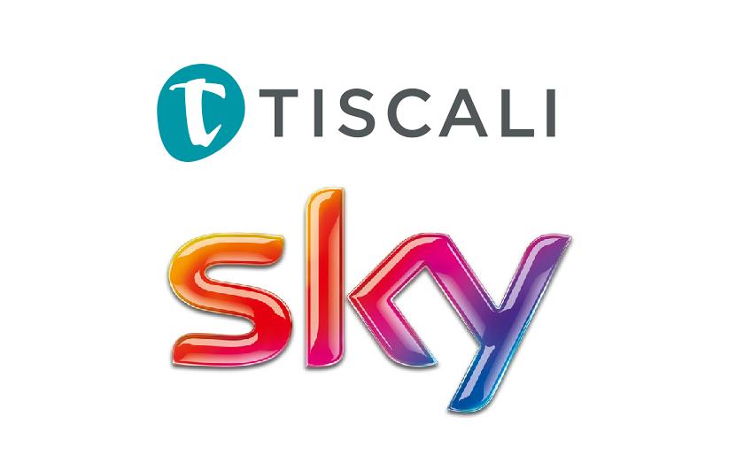 tiscali - Pubblicità. Tiscali affida a Sky la raccolta e si concentra sulla banda larga