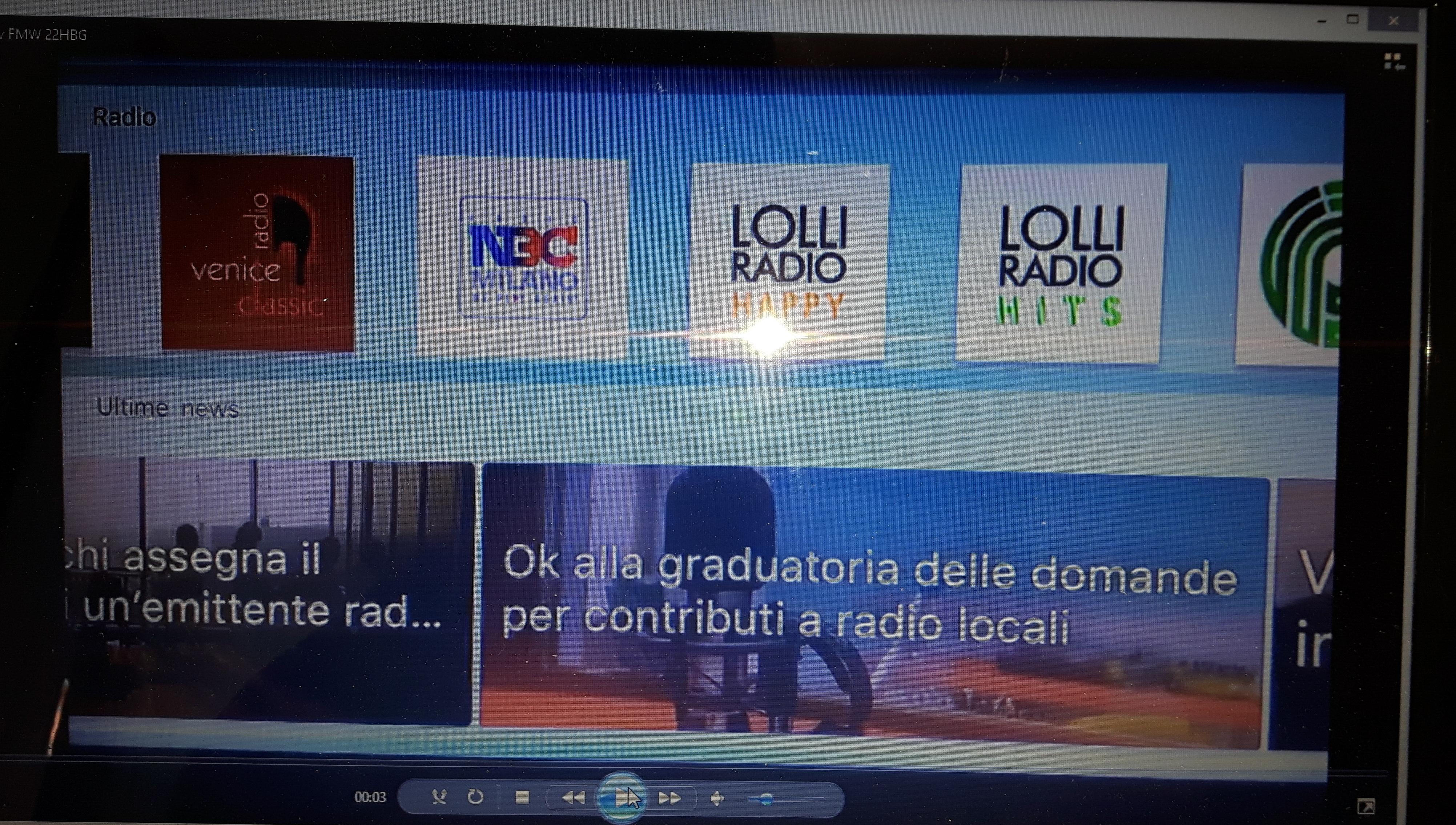 FM World smart tv - Radio 4.0. Il contenuto multipiattaforma Is Good For You integra l'FM. Esempio di sinergie a portata di tutti gli editori