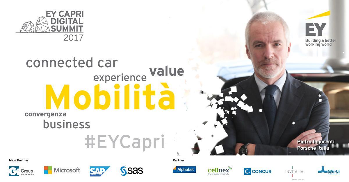 ey capri connected car - Radio digitale, connected car. A Capri il 4-6 ottobre i principali trend su mobilità nell'immediato futuro e oltre