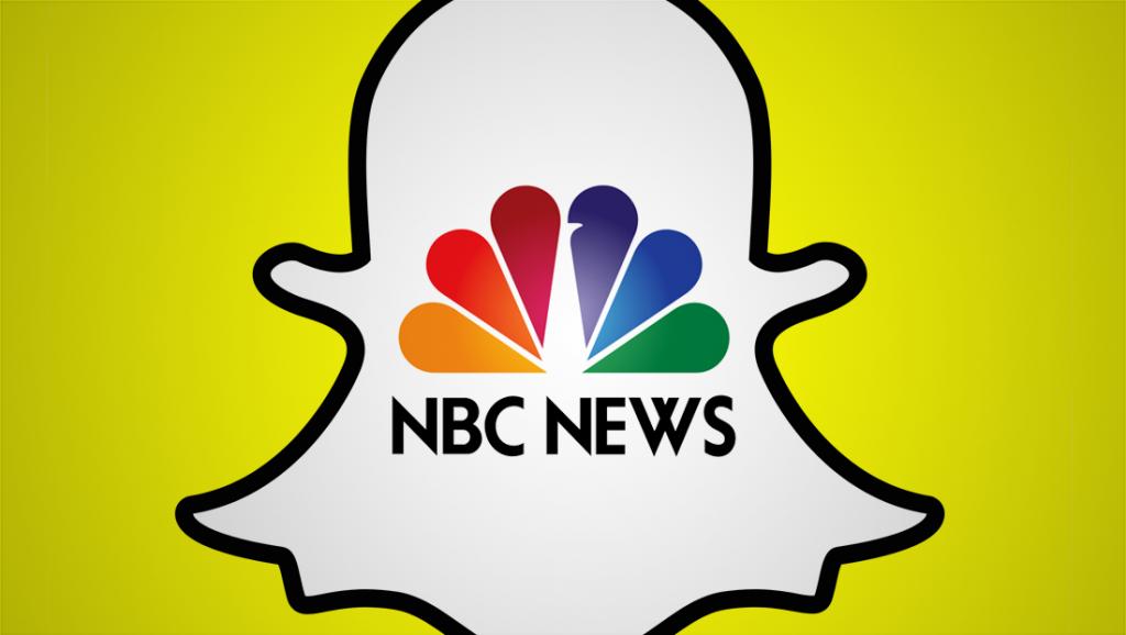 nbc news snapchat 1024x578 - Web & Tv. Sempre più strette le relazioni: Snapchat lancia tg social con Nbc News. E anche Facebook ci pensa